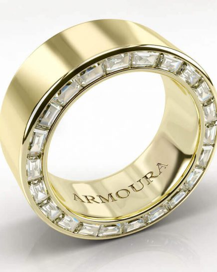 Diamond Eternity Ring in Gold