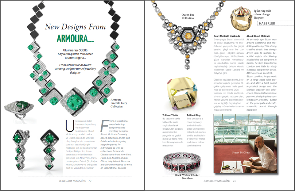 Jewellery Magazine Feature Irish Jewelry Designer