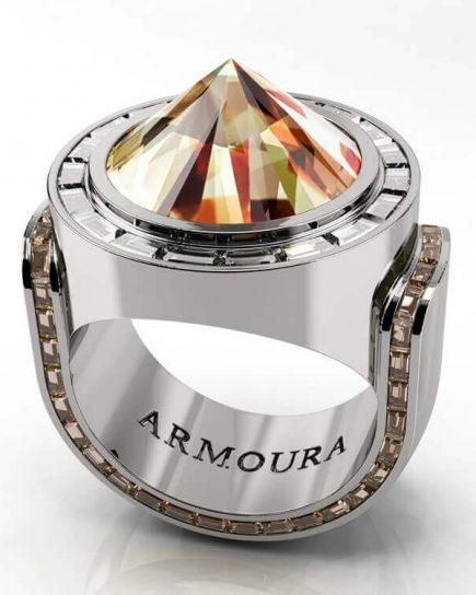 Reverse Set Diamond Ring