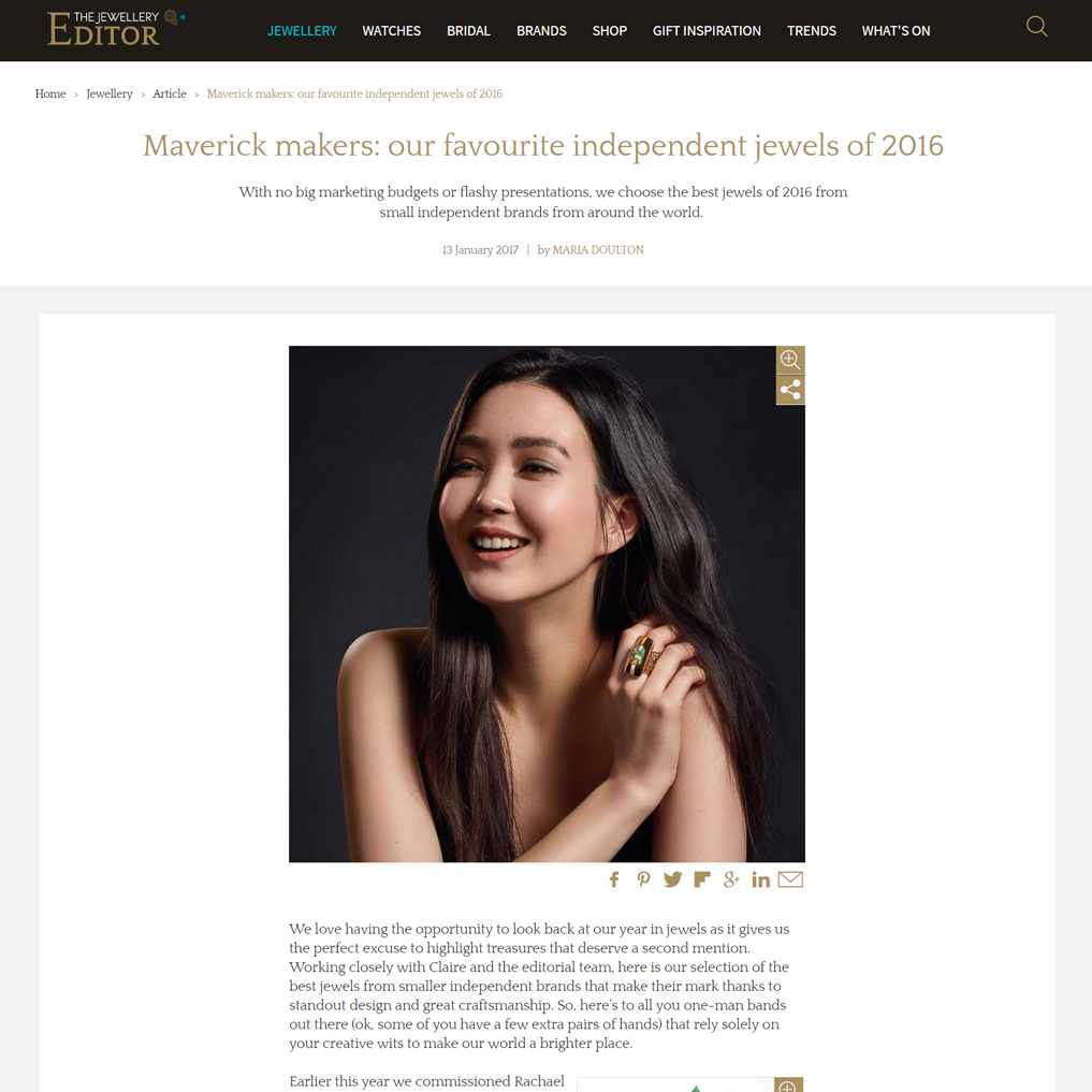 Maverick Jewellery Designer Article