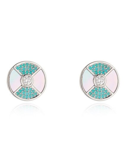 Paraiba Stud Earrings