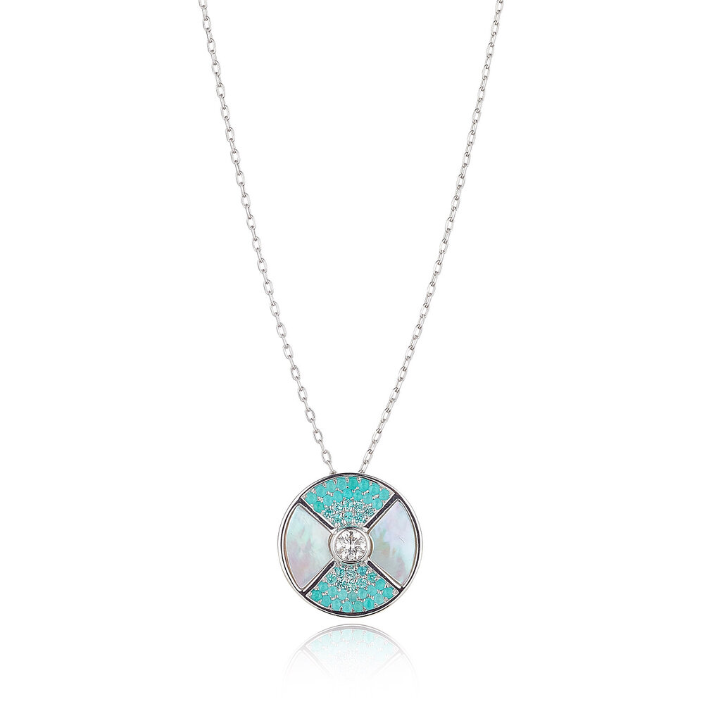 Paraiba Necklace
