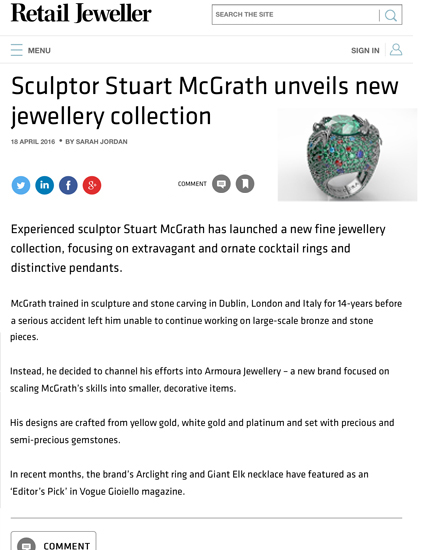 Sculpture Jewellery