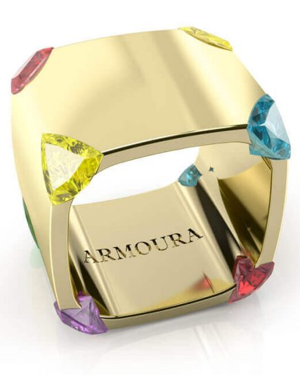 Trilliant Sapphire Ring