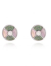 Tsavorite Stud Earrings