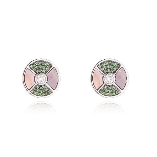 Tsavorite Stud Earrings